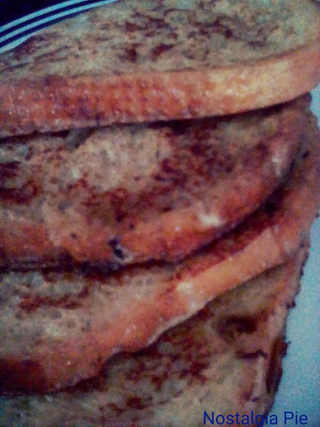 French toast: my first attempt in as long time