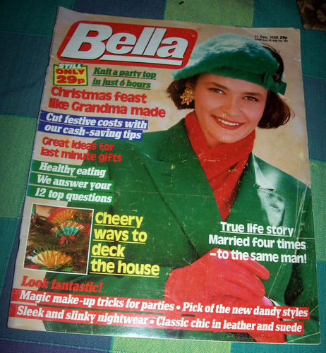 Bella from 1988. Bring it back Ed - you know you want to!