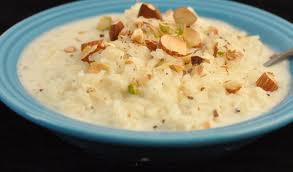 Kheer from India. Image from bluejeangourmet.wordpress.com