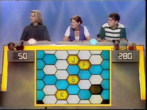 Blockbusters. the ITV quiz show. Image from www.ukquizshows.com