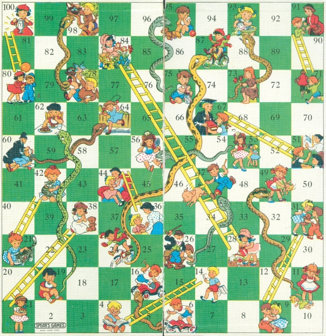 Snakes and Ladders | Nostalgia Pie