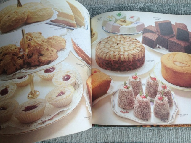 The yummy cake page I remember so well which is missing from the 2009 edition