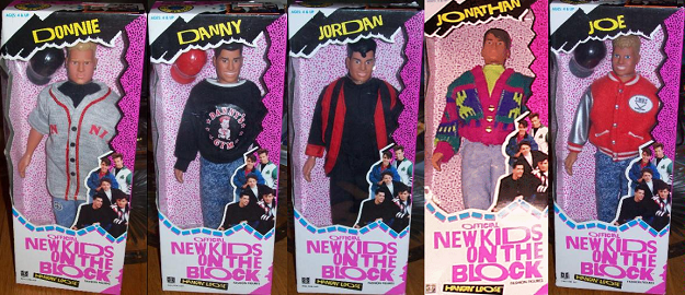The NKOTB dolls