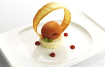 Paul Heathcote's contemporary take on the classic Peach Melba