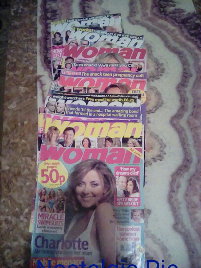 Woman magazine over the years