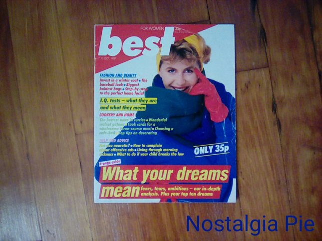 I loved best!