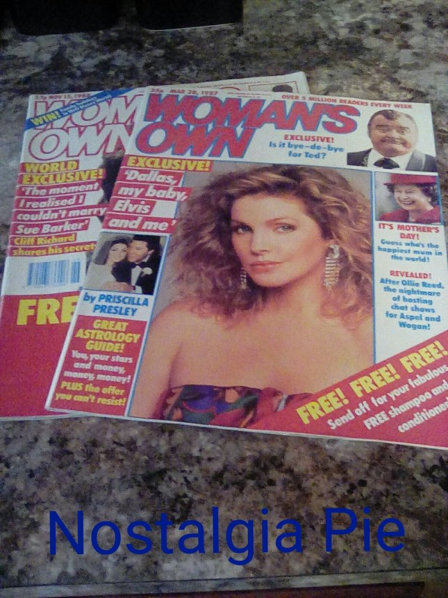 Woman's Own from the 1980s