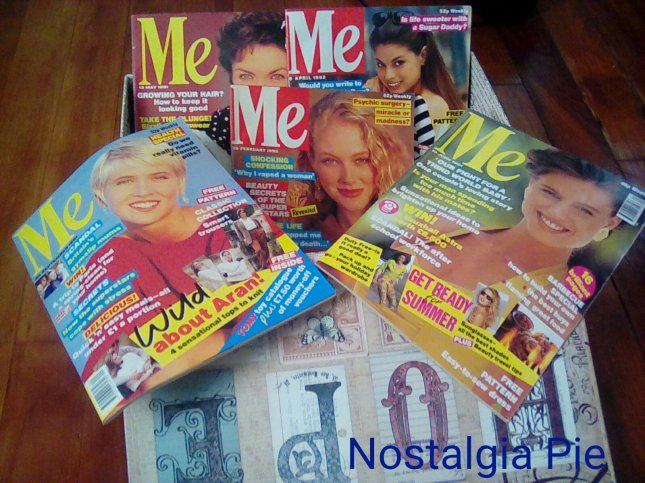 Just a fraction of me Me magazine collection